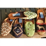 Needlepoint Mules -By Paige