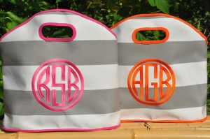 GG Stripe tote group