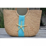 Coastal Half Moon Basket: large